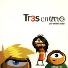 Cómics: TR3S EN UNO (ANDRES BARZI) GLENAT - MUY BUEN ESTADO - OFI15. Lote 128769932