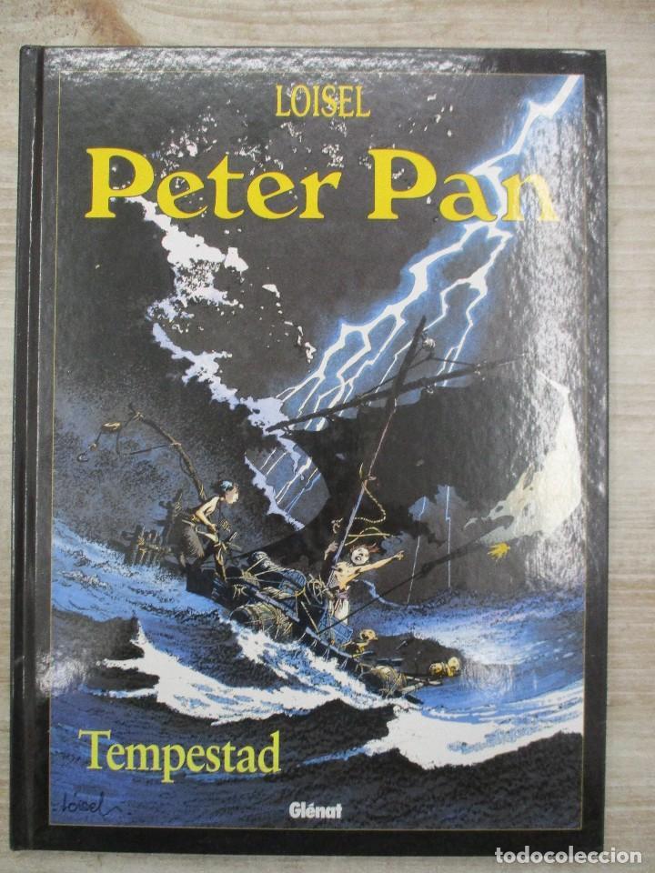 PETER PAN 3 / TEMPESTAD / LOISEL / TAPA DURA / GLENAT (Tebeos y Comics - Glenat - Autores Españoles)