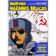 Cómics: PACK NUEVAS HAZAÑAS BELICAS 2 TOMOS SERIE ROJA Y AZUL - GLENAT - TAPA DURA - PRECINTADOS - OFI15. Lote 125214351