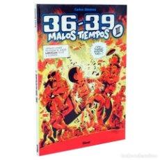 Cómics: 36-39 MALOS TIEMPOS Nº 2 (CARLOS GIMENEZ) GLENAT - TAPA DURA - IMPECABLE - OFI15. Lote 134057486