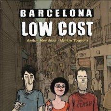 Cómics: BARCELONA LOW COST (ANIBAL MENDOZA / MARTIN TOGNOLA) GLENAT - CARTONE - IMPECABLE - OFI15T. Lote 254396375