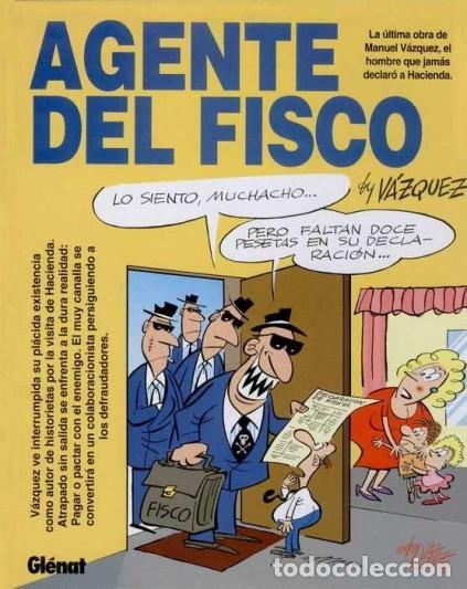 AGENTE DEL FISCO (VAZQUEZ) COL. GENIOS DEL HUMOR Nº 2 - GLENAT - IMPECABLE - OFI15T (Tebeos y Comics - Glénat - Autores Españoles)