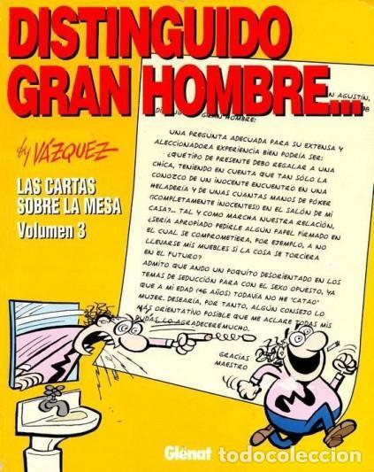 DISTINGUIDO GRAN HOMBRE... (VAZQUEZ) COL. GENIOS DEL HUMOR Nº 5 - GLENAT - IMPECABLE - OFI15T (Tebeos y Comics - Glénat - Autores Españoles)
