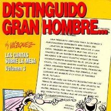 Cómics: DISTINGUIDO GRAN HOMBRE... (VAZQUEZ) COL. GENIOS DEL HUMOR Nº 5 - GLENAT - IMPECABLE - OFI15T. Lote 204475283