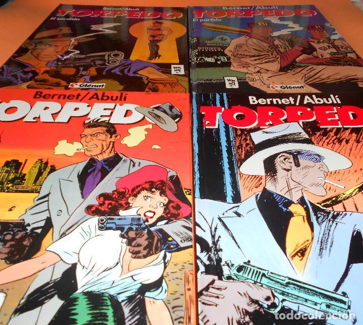 Cómics: TORPEDO. BERNET & ABULI . TOMOS Nº 9,10, 11 Y 12. TAPA DURA. MUY BUEN ESTADO - Foto 2 - 127313179