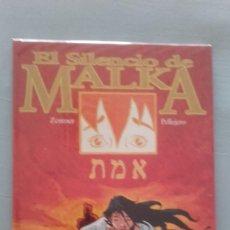 Cómics: EL SILENCIO DE MALKA, DE ZENTNER Y PELLEJERO (CARTONE). Lote 127471475