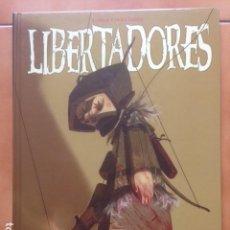 Cómics: LIBERTADORES DE ENRIQUE FERNÁNDEZ ( GLÉNAT 2004 ). Lote 128020471