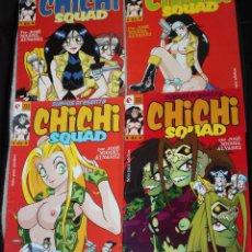 Cómics: CHICHI SQUAD ( OBRA COMPLETA DE JOSÉ MIGUEL ÁLVAREZ) CON LOS Nº1 2 3 Y 4. Lote 128275515