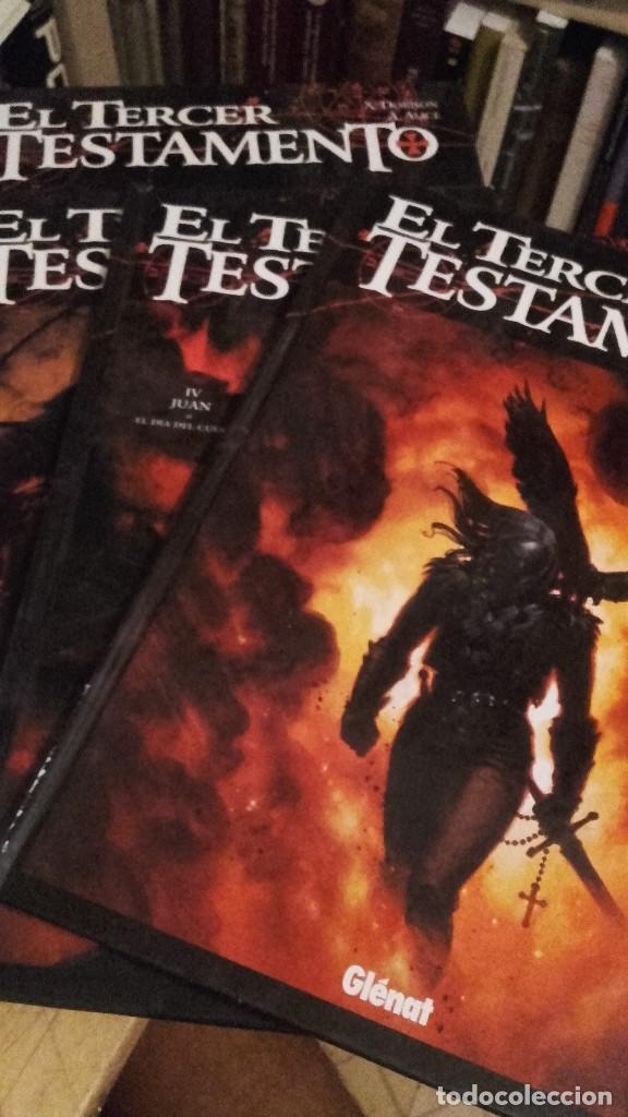 DORISON / ALICE: EL TERCER TESTAMENTO. 4 TOMOS. MARCOS, MATEO, LUCAS, JUAN. TAPA DURA. (Tebeos y Comics - Glénat - Comic USA)