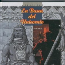 Cómics: EN BUSCA DEL UNICORNIO Nº 3 FINIS AFRICAE (MIRALLES / RUIZ) GLENAT - OFI15T. Lote 163384369