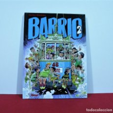 Cómics: BARRIO 2 DE CARLOS GIMENEZ , EDITORIAL GLENAT. Lote 130421198