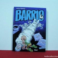 Cómics: BARRIO 4 DE CARLOS GIMENEZ , EDITORIAL GLENAT. Lote 130423418