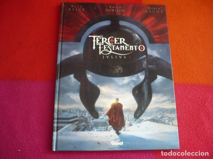 EL TERCER TESTAMENTO JULIUS I ( ALEX ALICE XAVIER DORISON ) ¡MUY BUEN ESTADO! GLENAT TAPA DURA (Tebeos y Comics - Glénat - Autores Españoles)