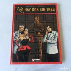 Cómics: NO HAY DOS SIN TRES - FLOC'H Y FROMENTAL - TOMO TAPA DURA GLÉNAT. Lote 131039292