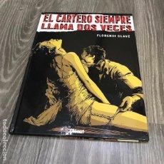 Cómics: EL CARTERO SIEMPRE LLAMA DOS VECES. VIÑETAS NEGRAS - GLENAT - 2007. Lote 131791006