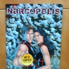 Cómics: TOMO NARCÓPOLIS DE JAMIE DELANO Y JEREMY ROCK - GLENAT AVATAR.. Lote 132231838