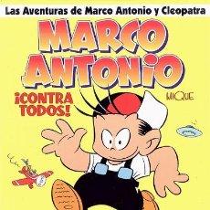 Cómics: MARCO ANTONIO: ¡CONTRA TODOS! (GLÉNAT, 1997). Lote 132586222