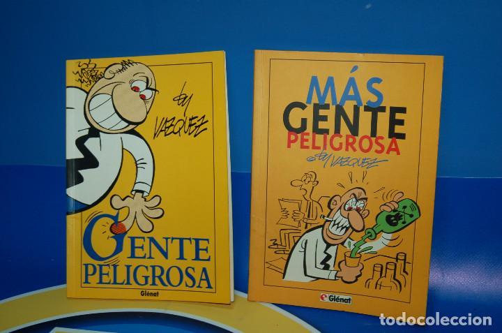 COMICS GENTE PELIGROSA Y MAS GENTE PELIGROSA BY VAZQUEZ-GLENAT- DESCATALOGADOS (Tebeos y Comics - Glénat - Autores Españoles)
