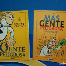 Cómics: COMICS GENTE PELIGROSA Y MAS GENTE PELIGROSA BY VAZQUEZ-GLENAT- DESCATALOGADOS. Lote 132856434