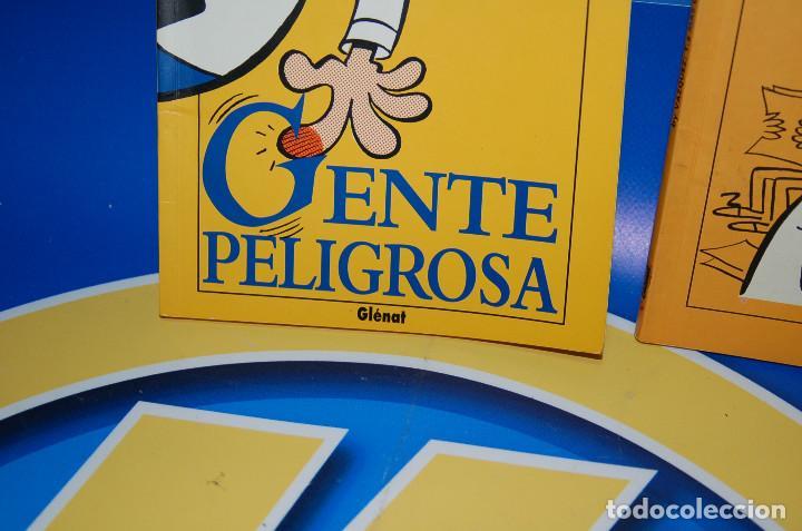 Cómics: Comics GENTE PELIGROSA y MAS GENTE PELIGROSA by VAZQUEZ-glenat- descatalogados - Foto 3 - 132856434