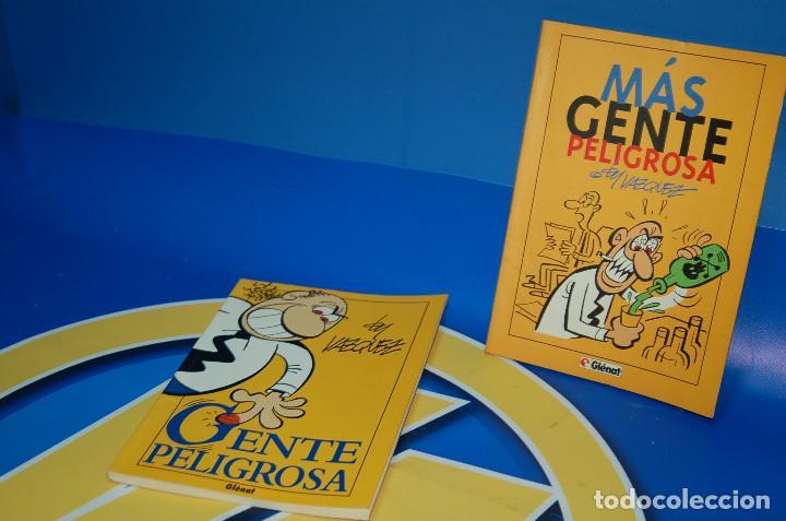 Cómics: Comics GENTE PELIGROSA y MAS GENTE PELIGROSA by VAZQUEZ-glenat- descatalogados - Foto 6 - 132856434