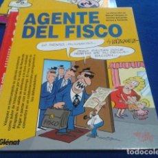 Cómics - REVISTA GLENAT BY VAZQUEZ ( AGENTE DEL FISCO ) NUEVO 1993 COLECCION GENIOS DEL HUMOR Nº 2 - 132889502