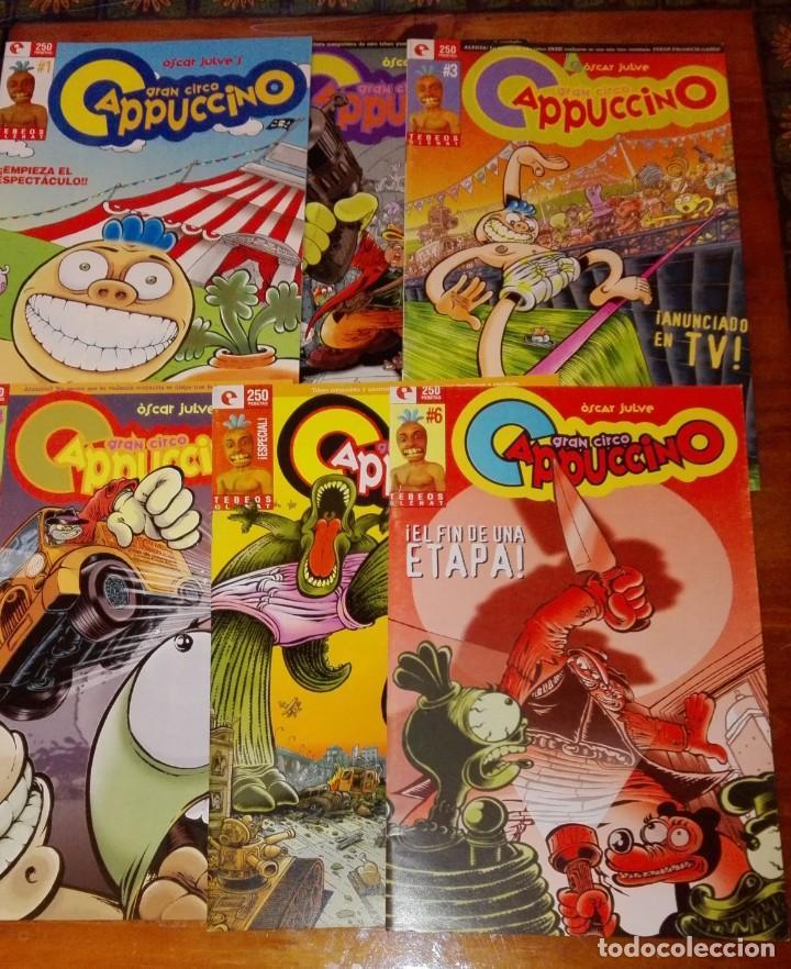GRAN CIRCO CAPPUCCINO. 6 NÚMEROS (COLECCIÓN COMPLETA). (Tebeos y Comics - Glénat - Autores Españoles)