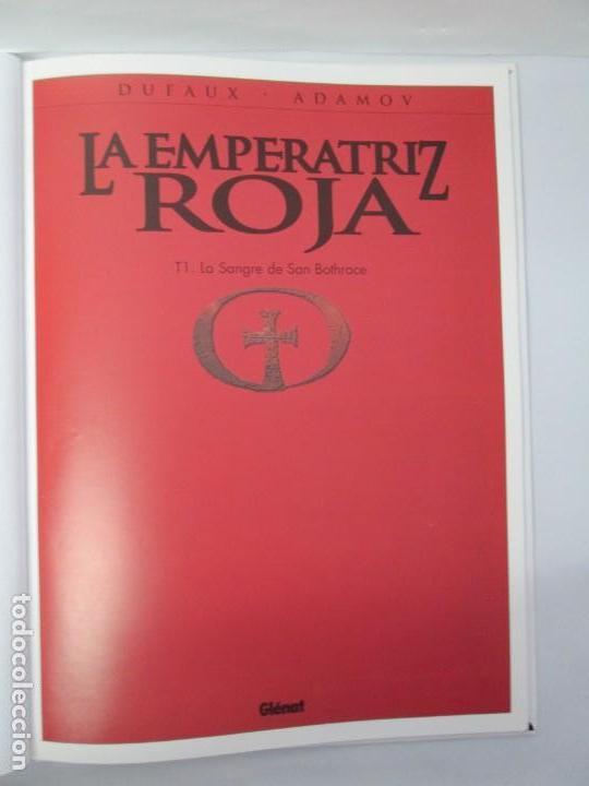 Cómics: LA EMPERATRIZ ROJA. DUFAUX. ADAMOV. EDITORIAL GLENAT. 2000. VER FOTOGRAFIAS ADJUNTAS - Foto 7 - 133078010