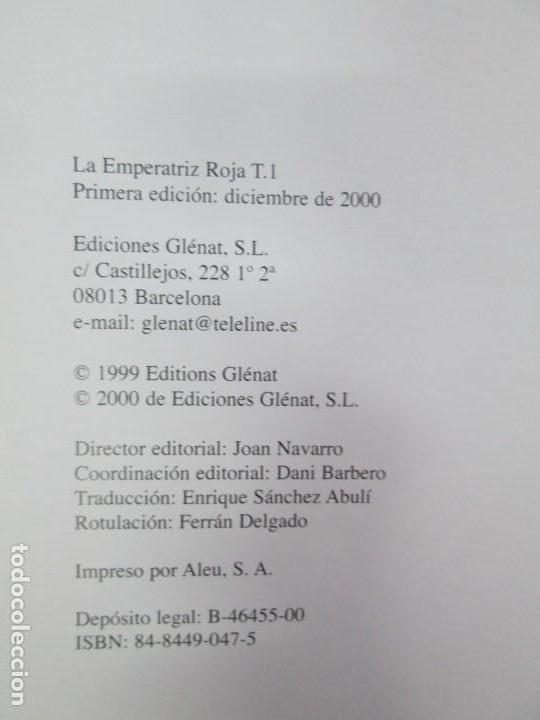 Cómics: LA EMPERATRIZ ROJA. DUFAUX. ADAMOV. EDITORIAL GLENAT. 2000. VER FOTOGRAFIAS ADJUNTAS - Foto 8 - 133078010