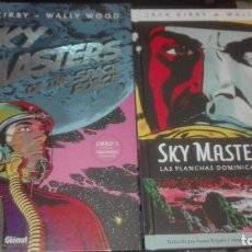 Cómics: SKY MASTERS OF THE SPACE FORCE TIRAS DOMINICALES KIRBY WOOD. Lote 133144694