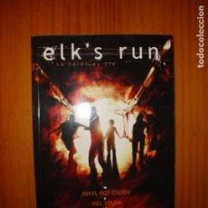 Cómics: ELK'S RUN. LA HUÍDA DE ELK - JOSHUA HALE FIALKOV, NOEL TUAZON - GLENAT, MUY BUEN ESTADO. Lote 133477410