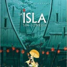 Cómics: LA ISLA SIN SONRISA (ENRIQUE FERNANDEZ) GLENAT - CARTONE - IMPECABLE - OFI15. Lote 134057326