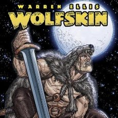 Cómics: WOLFSKIN (WARREN ELLIS / JUAN JOSE RYP) GLENAT - IMPECABLE - OFI15. Lote 134079866
