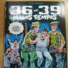 Cómics: 36-39 MALOS TIEMPOS #1. Lote 134161246