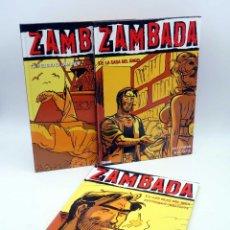 Cómics: ZAMBADA 1, 2, 3 Y 4. COMPLETA (AUTHEMAN /MALTHAITE) GLENAT, 2005. OFRT ANTES 36E. Lote 198928620