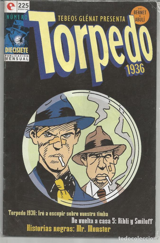TORPEDO 1936, EDICIONES GLÉNAT Nº 17. (Tebeos y Comics - Glénat - Autores Españoles)