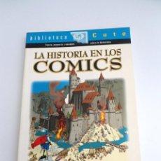 Cómics: LA HISTORIA EN LOS COMICS - SERGI VICH - BILBLIOTECA CUTO - GLENAT 1997 - PERFECTO ESTADO. Lote 134806366