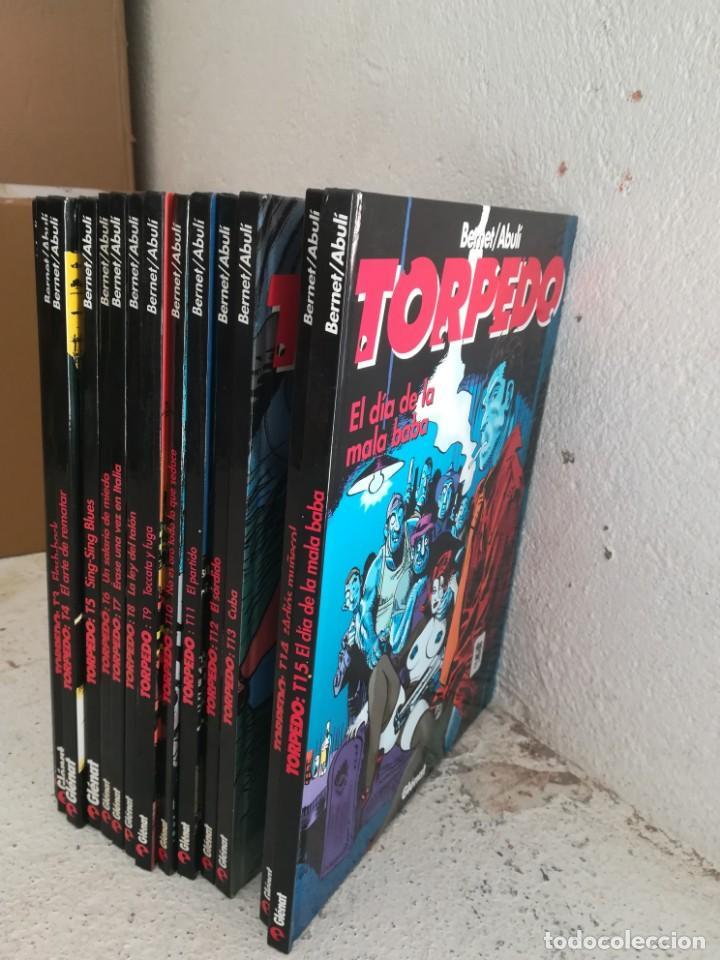 TORPEDO 1936 BERNET / ABULI – GLENAT, CARTONÉ 14 NÚMEROS EN TAPA DURA REF. UR-EST (Tebeos y Comics - Glénat - Autores Españoles)