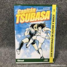Cómics: CAPITAN TSUBASA 5 YOICHI TAKAHASHI GLENAT COMIC. Lote 137954233