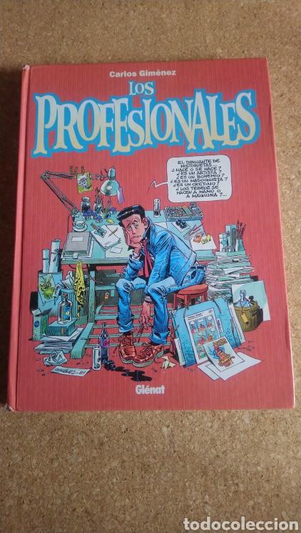 LOS PROFESIONALES CARLOS JIMÉNEZ (Tebeos y Comics - Glénat - Autores Españoles)