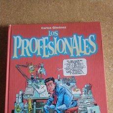 Cómics: LOS PROFESIONALES CARLOS JIMÉNEZ. Lote 137977032