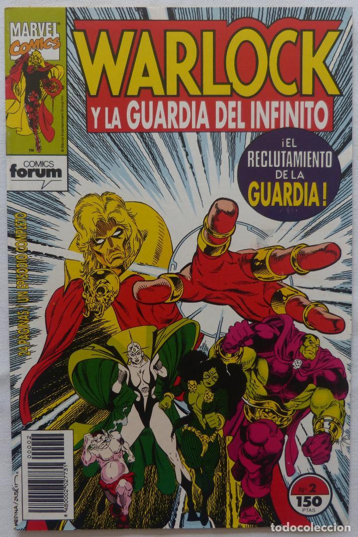 COMIC WARLOCK Y LA GUARDIA DEL INFINITO,NUMERO 2,MARVEL COMICS,1993 (Tebeos y Comics - Glénat - Comic USA)