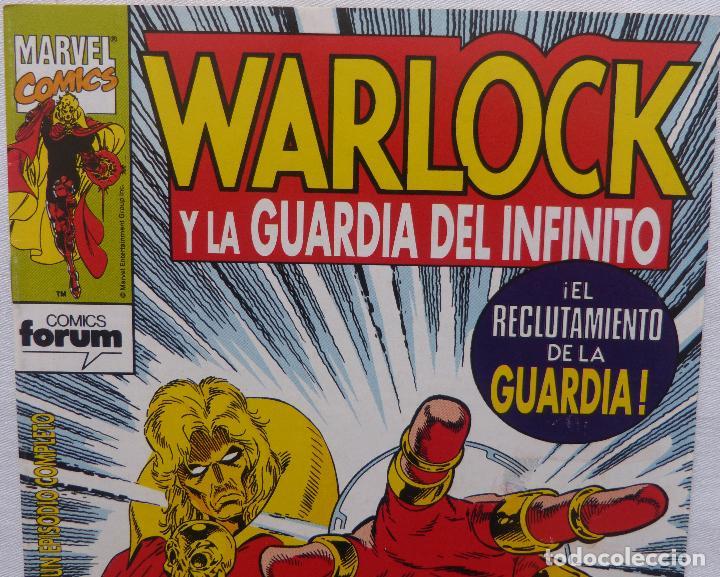 Cómics: Comic Warlock y la Guardia del Infinito,Numero 2,Marvel Comics,1993 - Foto 2 - 138185190