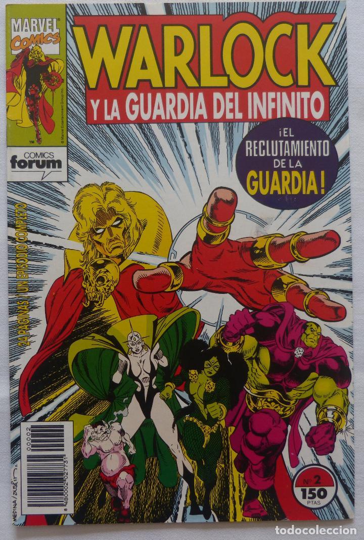 Cómics: Comic Warlock y la Guardia del Infinito,Numero 2,Marvel Comics,1993 - Foto 3 - 138185190