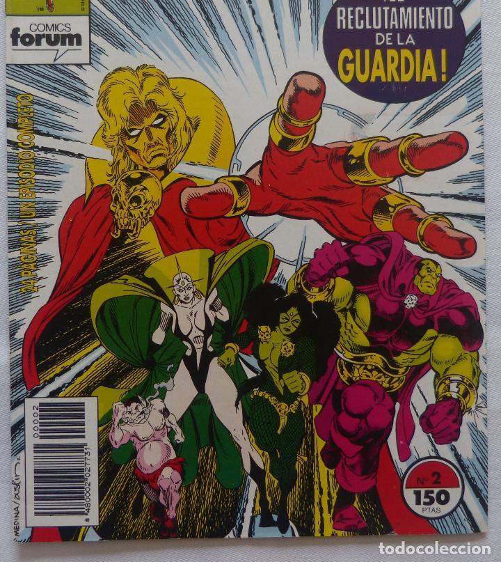 Cómics: Comic Warlock y la Guardia del Infinito,Numero 2,Marvel Comics,1993 - Foto 5 - 138185190