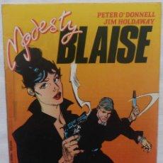 Cómics: COMIC MODESTY BLAISE,NUMERO 1,MARVEL,FORUM COMICS,1988. Lote 138185890