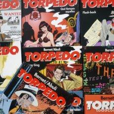 Cómics - Torpedo. Abulí & Bernet. Glénat, 10 primeros volúmenes. Tapa dura. - 138749982