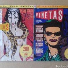 Cómics: LOTE VIÑETAS (COLECCIÓN COMPLETA). RECOPILATORIOS I Y II MÁS NÚMEROS 7-8-9-10-11-12-13-14 (GLÉNAT).. Lote 139177730