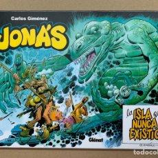 Cómics: JONÁS LA ISLA QUE JAMÁS EXISTIÓ - EDT - CARLOS GIMENEZ. Lote 140376040