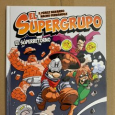 Cómics: EL SUPERGRUPO - EDT. Lote 140376342